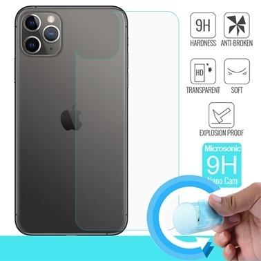 Microsonic Apple iPhone 11 Pro (5.8'') Arka Nano Cam Ekran Koruyucu Renksiz